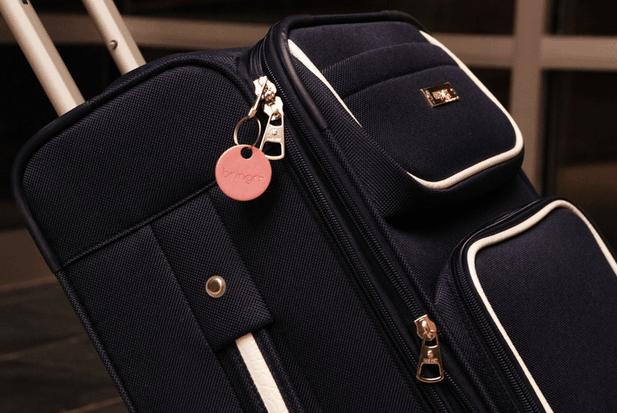 bringrr tag on a backpack