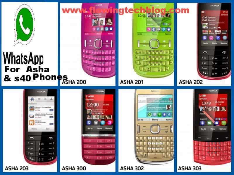 Guide To Download/Install WhatsApp on Nokia Asha Series