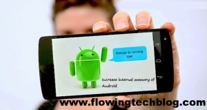 Increase Internal Space Of Android