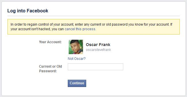 Enter a New or Old Password