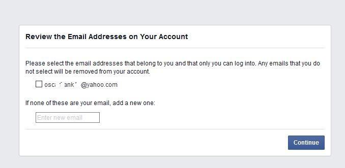 Verify your Emails
